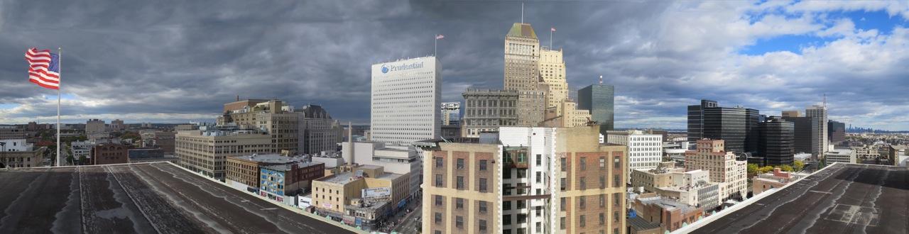 newark panoramic photo