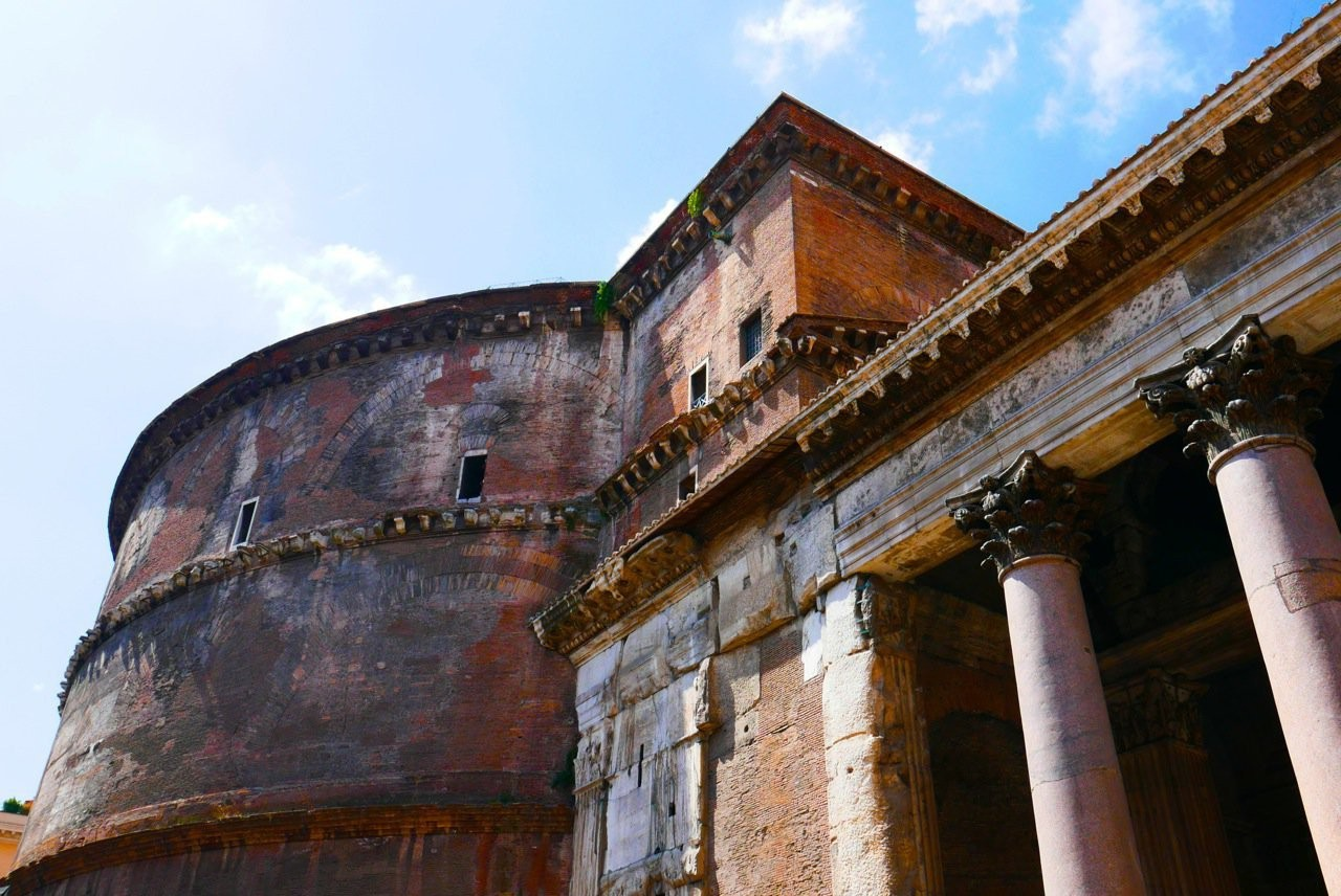 Pantheon Facade